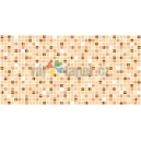 3D PVC panel Mosaic Brown Coffee